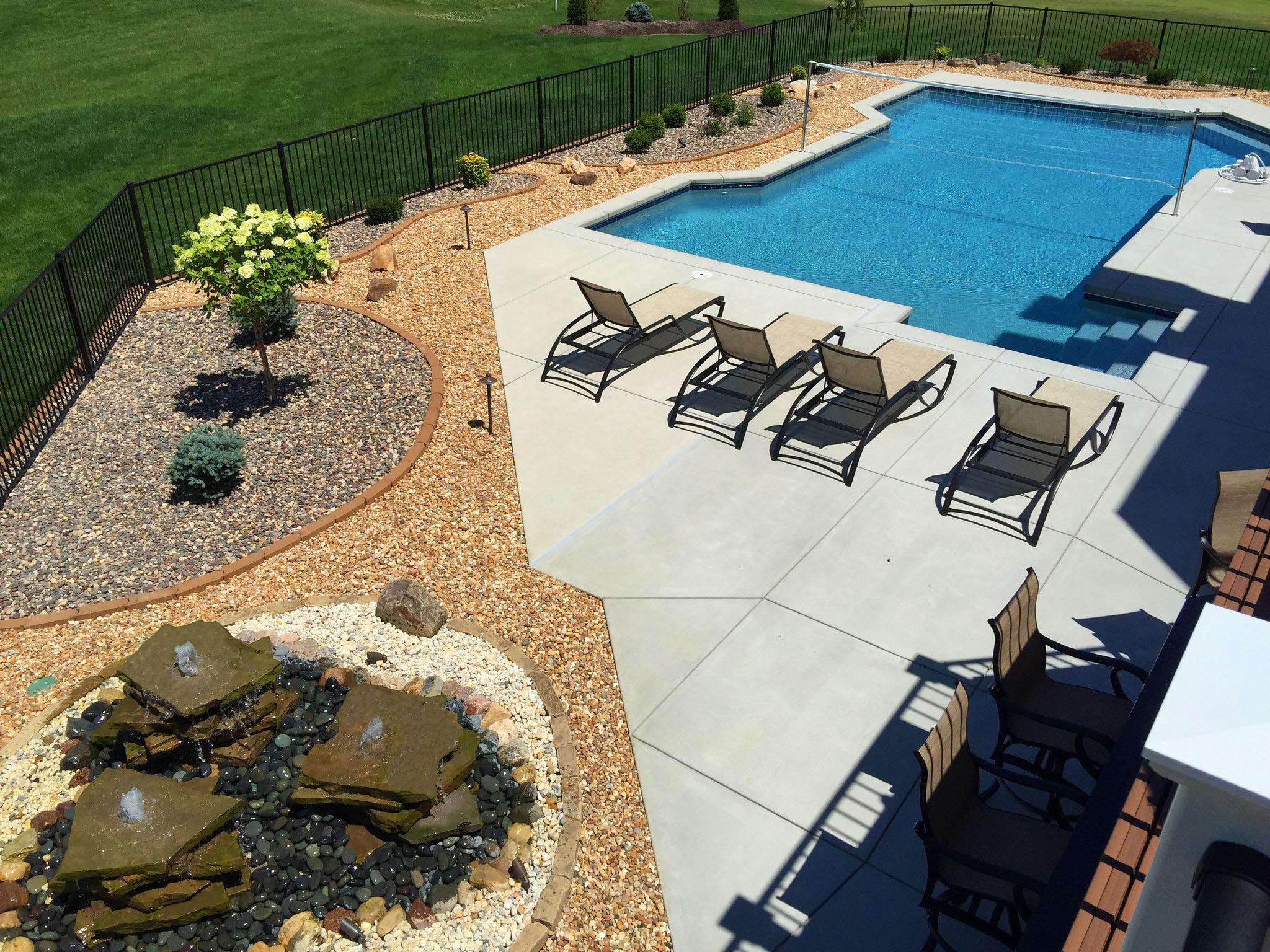 7 Swimming Pool Landscaping Tips Flora Design Landscape