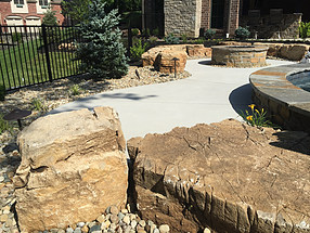 landscape design, hardscape, st. louis landscape, outdoor lighting