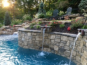 landscape design, hardscape, st. louis landscape, seating area