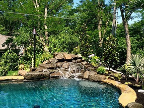 landscape design, st. louis landscape, pool, hawaii
