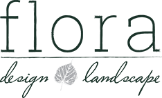 Flora Design and Landscape Logo